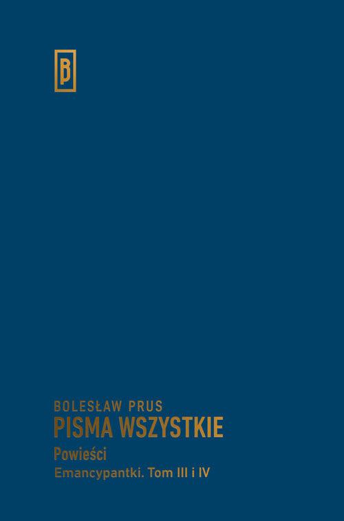 okładka Emancypantki Tom 3-4, Książka   Bolesław Prus