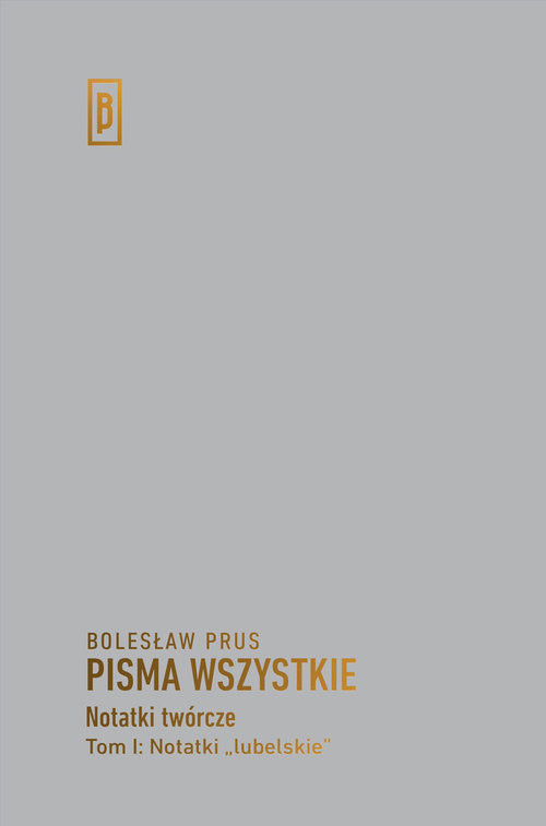 """okładka Notatki """"lubelskie"""", Książka   Bolesław Prus"""