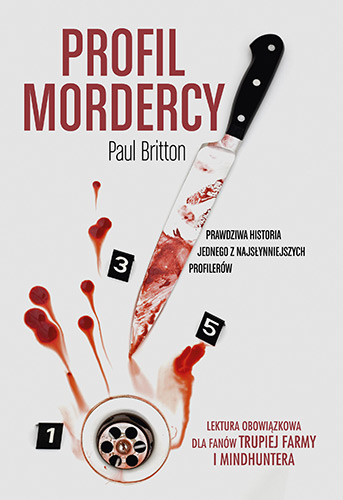 okładka Profil mordercy. KsiążkaBritton Paul