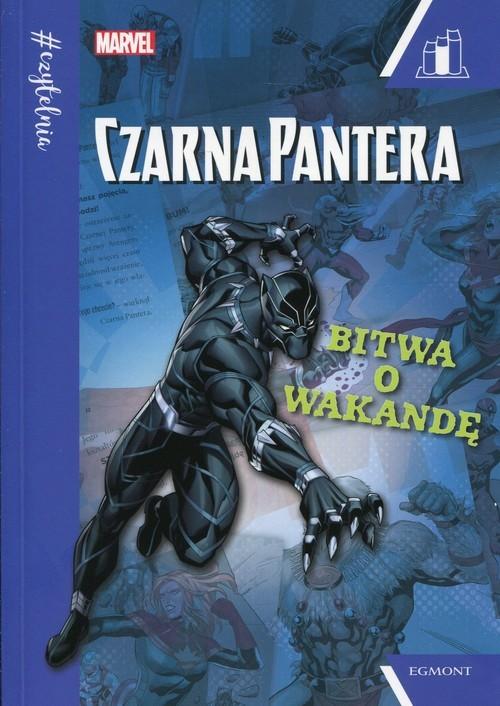 okładka Marvel Czarna Pantera Bitwa o Wakandę Seria niebieskaksiążka |  | Brandon T. Snider