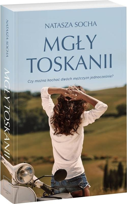 okładka Mgły Toskanii, Książka | Socha Natasza