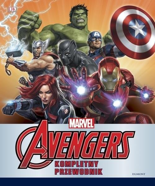 okładka Marvel Avengers Kompletny przewodnik, Książka | Scott Beatty, Alan Cowsill, Alastair Dougall, Praca Zbiorowa