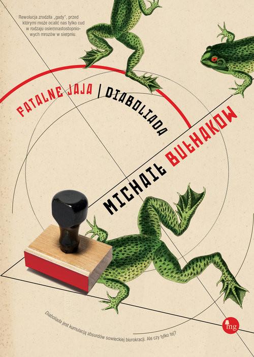 okładka Fatalne jaja Diaboliada, Książka | Michaił Bułhakow