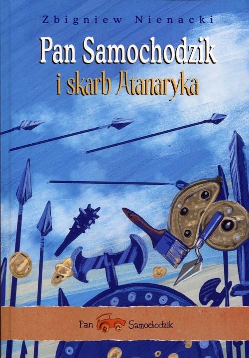 okładka Pan Samochodzik i skarb Atanarykaksiążka      Nienacki Zbigniew