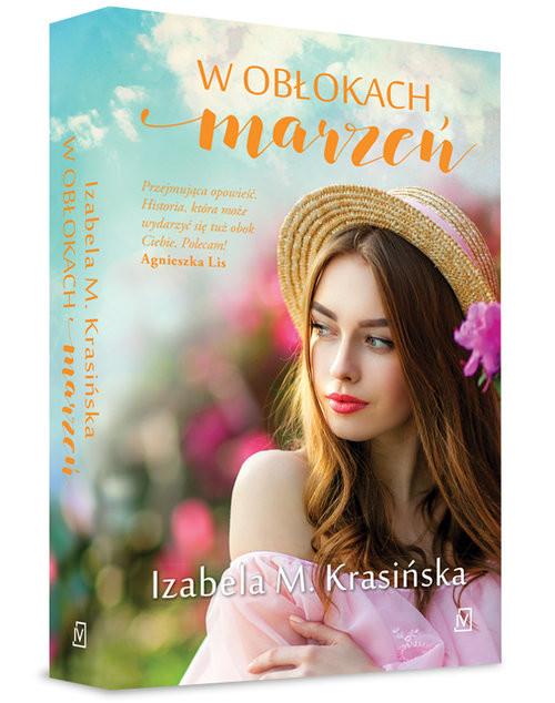 okładka W obłokach marzeń, Książka | Izabela M.  Krasińska