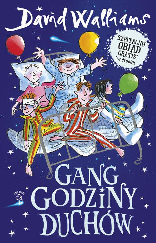 okładka Gang Godziny Duchów, Książka | Walliams David