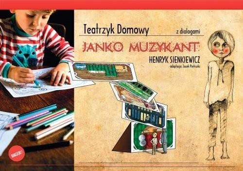 okładka Teatrzyk domowy Janko Muzykant, Książka | Praca Zbiorowa