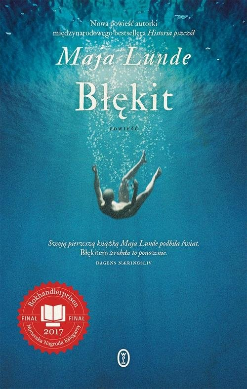 okładka Błękitksiążka |  | Maja Lunde