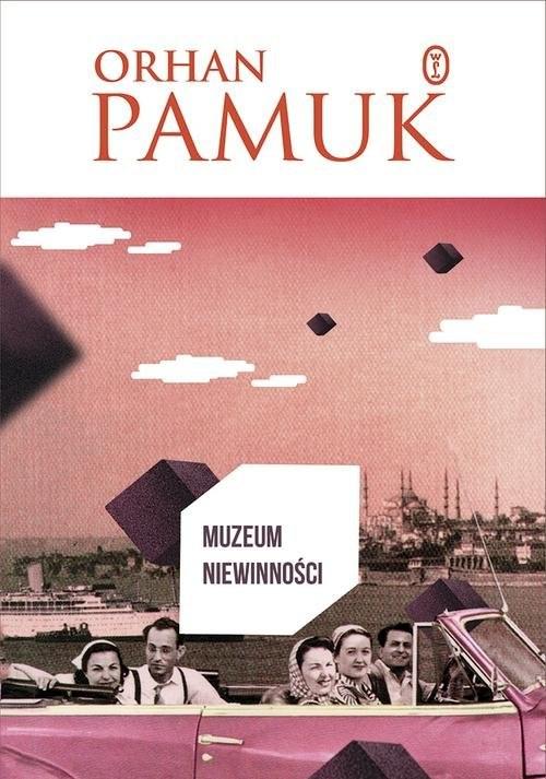 okładka Muzeum niewinności. KsiążkaPamuk Orhan