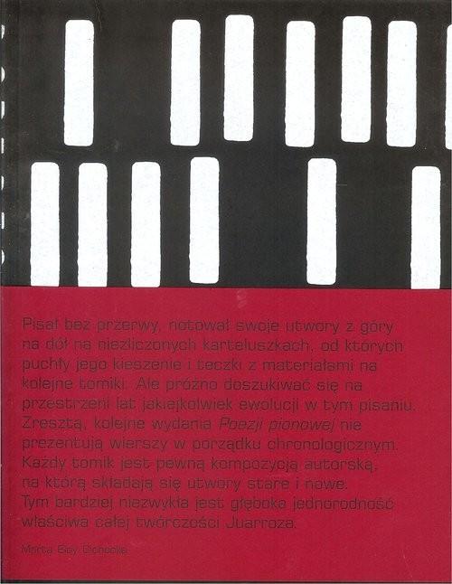 okładka Poezja pionowa, Książka | Juarroz Roberto