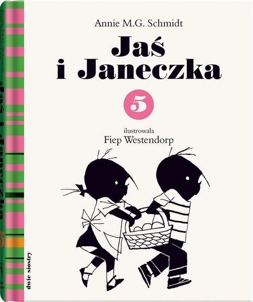 okładka Jaś i Janeczka 5, Książka | Annie M.G. Schmidt