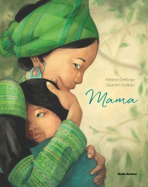 okładka Mama, Książka | Delforge Helene