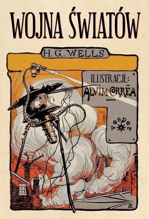 okładka Wojna światów, Książka | Herbert George Wells