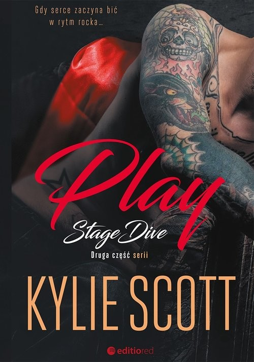 okładka Play Stage Dive, Książka | Kylie Scott