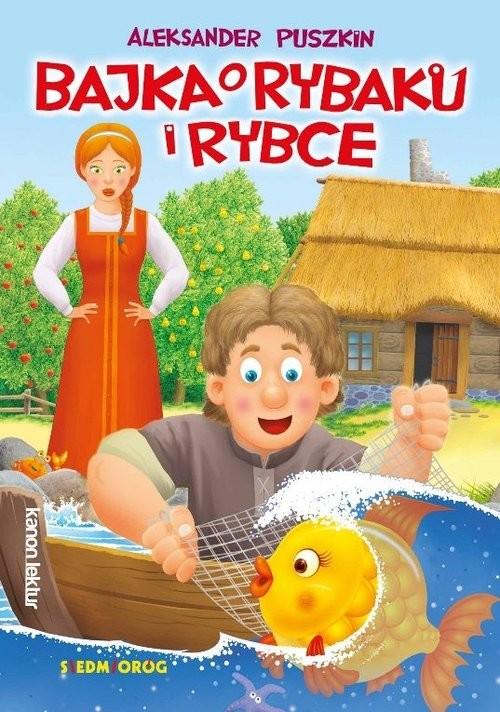 okładka Bajka o rybaku i rybce, Książka | Aleksander Puszkin