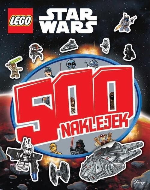 okładka Lego Star Wars 500 naklejek, Książka |