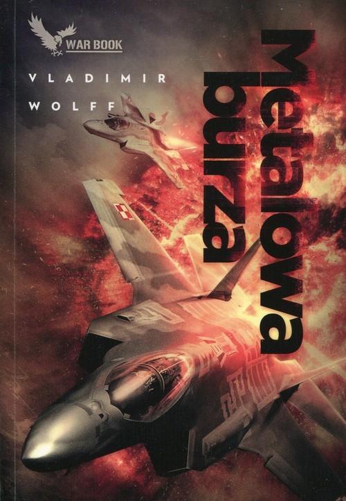 okładka Metalowa burza Armagedon 1, Książka | Vladimir Wolff