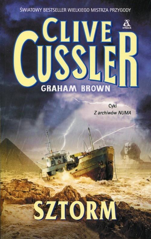 okładka Sztorm, Książka | Cussler Clive, Graham Brown