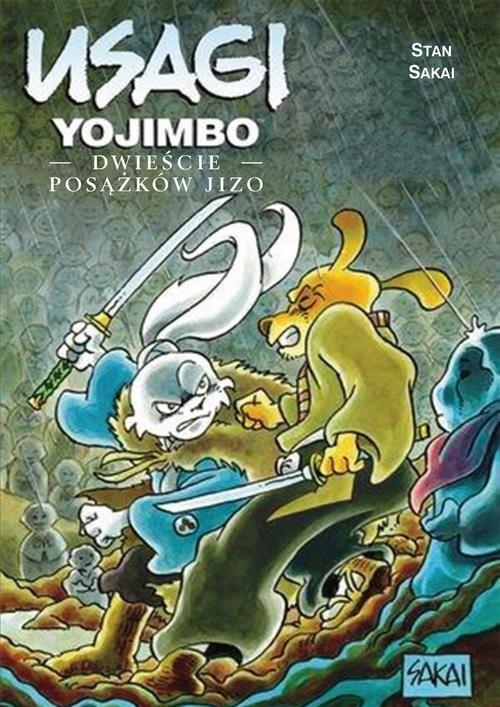 okładka Usagi Yojimbo Dwieście posążków Jizo, Książka | Sakai Stan