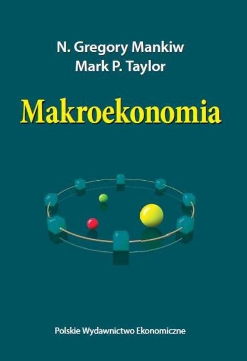 okładka Makroekonomia, Książka | N. Gregory Mankiw, P. Mark Taylor