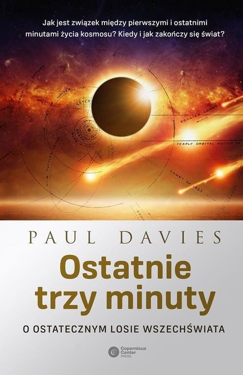 okładka Ostatnie trzy minuty, Książka | Paul Davies