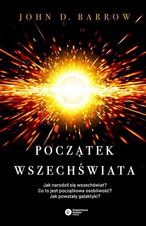 okładka Początek wszechświata, Książka | John D. Barrow