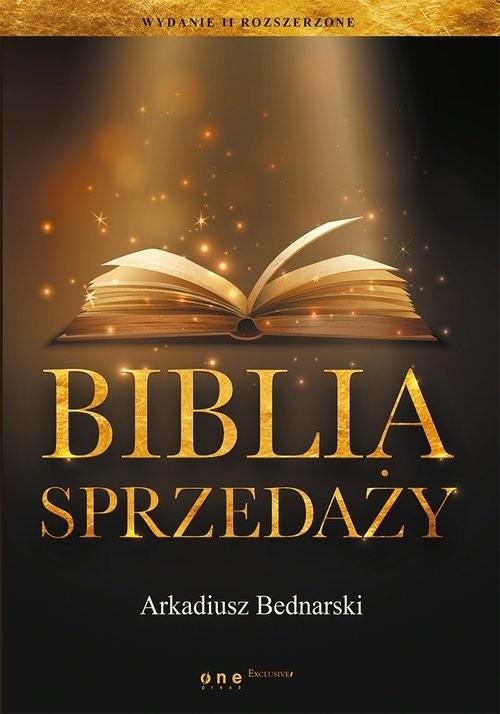 okładka Biblia sprzedaży, Książka | Bednarski Arkadiusz