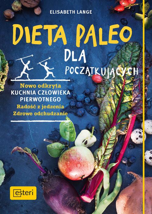 okładka Dieta paleo dla początkujących, Książka | Lange Elisabeth