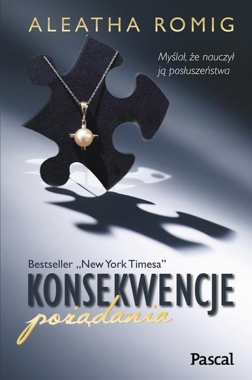 okładka Konsekwencje pożądania, Książka | Romig Aleatha
