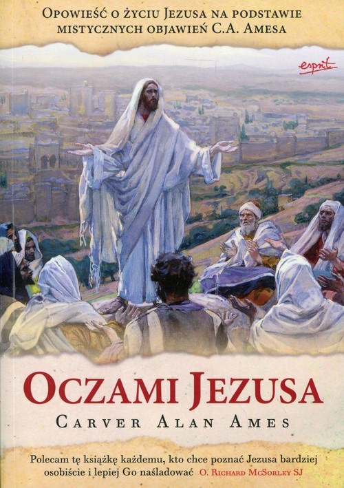 okładka Oczami Jezusaksiążka |  | Carver Alan Ames