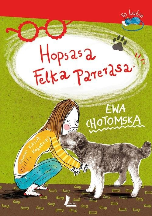 okładka Hopsasa Felka Parerasa, Książka | Ewa Chotomska