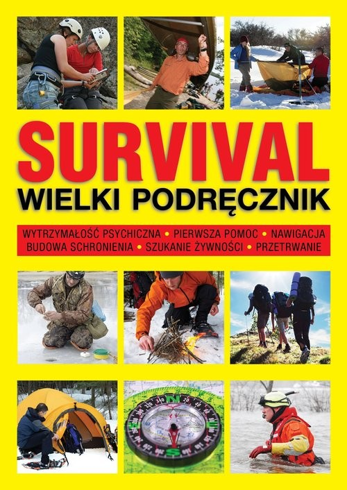 okładka Survival Wielki podręcznik, Książka | McNab Chris