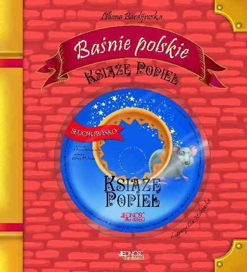 okładka Baśnie polskie Książę Popiel + CD, Książka | Bardijewska Liliana
