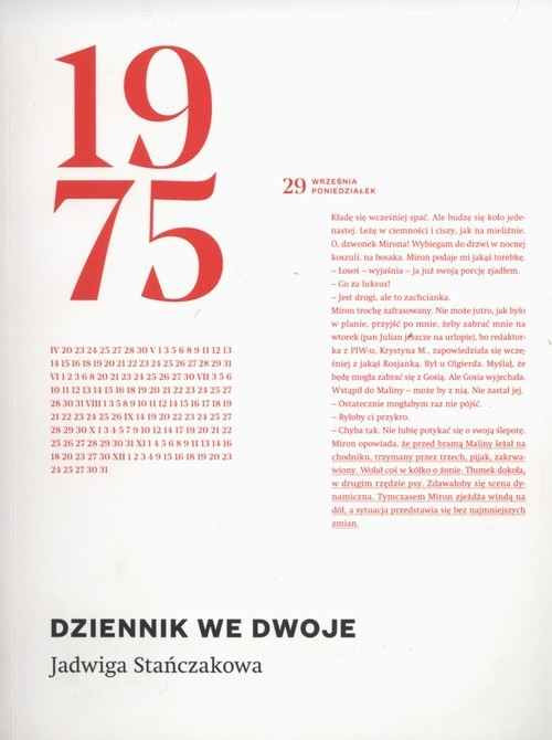okładka Dziennik we dwoje, Książka   Stańczakowa Jadwiga