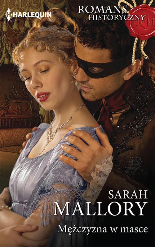 okładka Mężczyzna w masce, Książka | Sarah Mallory