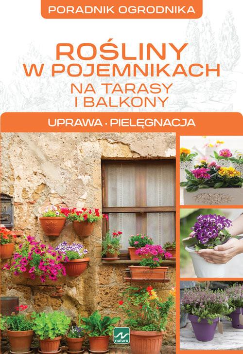 okładka Rośliny w pojemnikach Uprawa, pielęgnacja, Książka | Mazik Michał