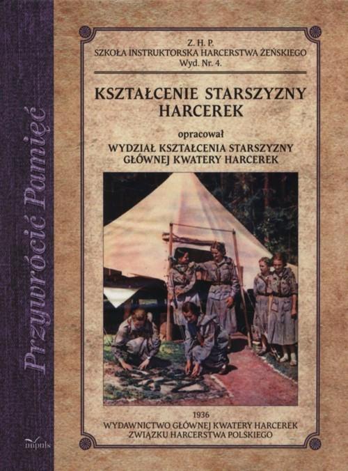 okładka Kształcenie starszyzny harcerek, Książka |