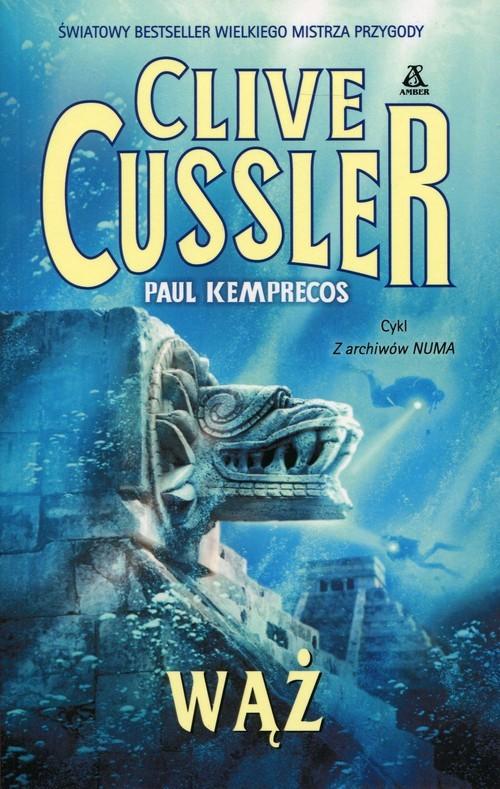 okładka Wąż, Książka | Cussler Clive