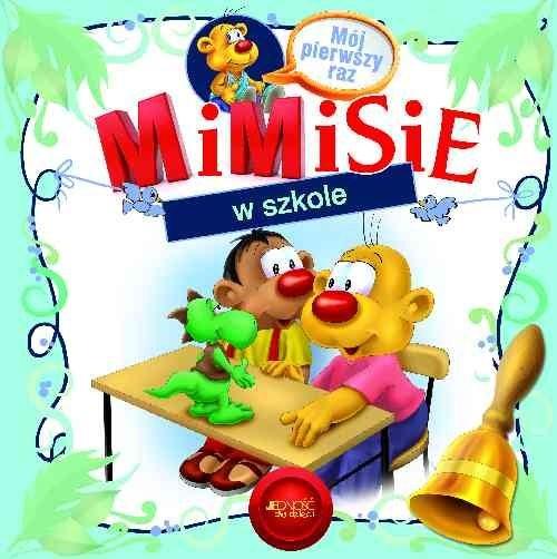 okładka Mimisie w szkole, Książka   Skwark Dorota