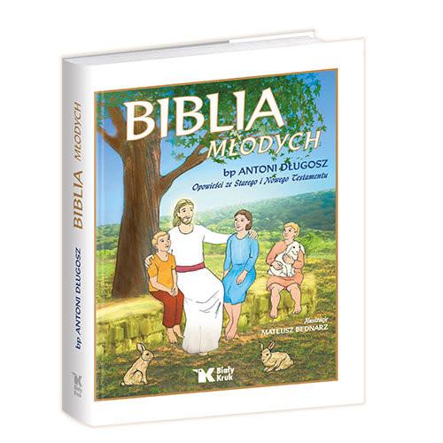 okładka Biblia Młodych Opowieści ze Starego i Nowego Testamentu, Książka   Długosz Antoni