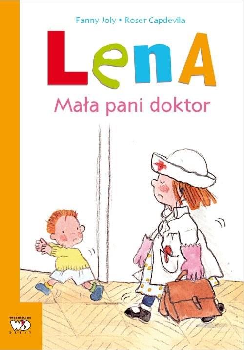 okładka Lena Mała pani doktor, Książka   Joly Fanny
