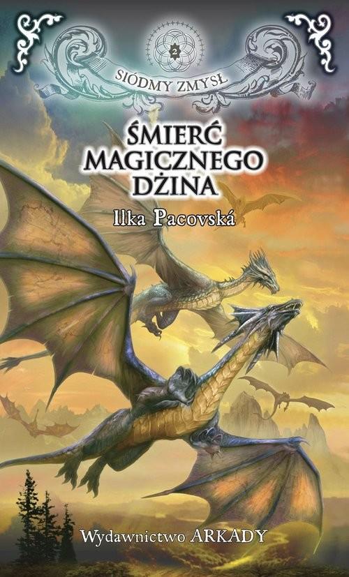okładka Siódmy zmysł 2 Śmierć magicznego dżina, Książka | Pacoská Ilka