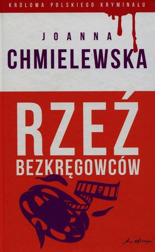 okładka Królowa polskiego kryminału 36 Rzeź bezkręgowców, Książka | Chmielewska Joanna