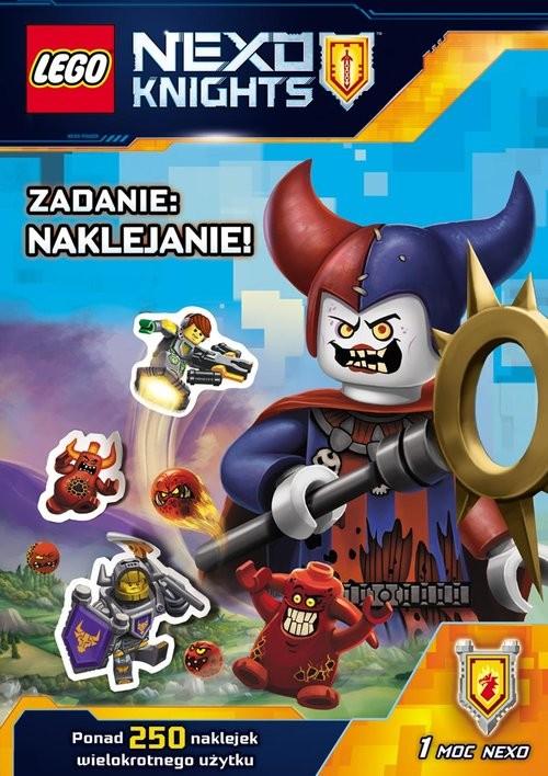 Lego Nexo Knights Zadanie Naklejanie Książka Woblinkcom