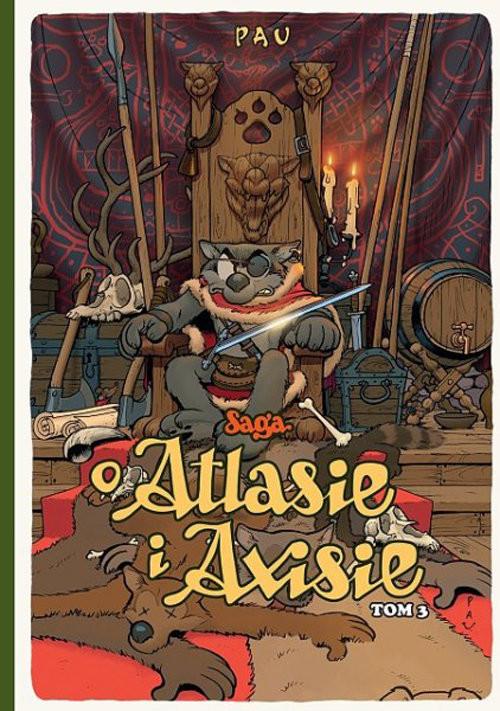 okładka Saga o Atlasie i Axisie Tom 3książka |  | Pau