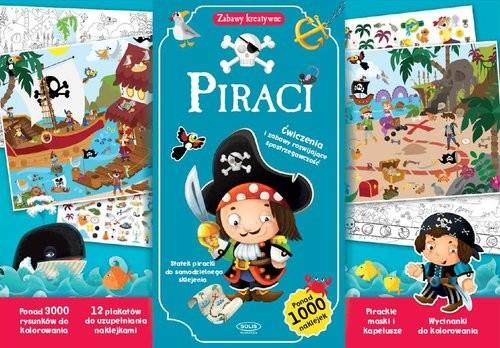 okładka Piraci, Książka |