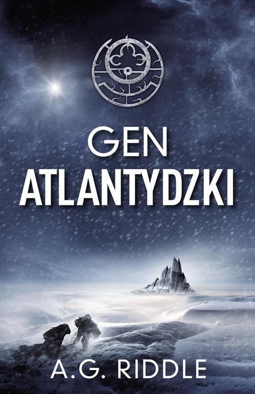 okładka Gen Atlantydzki, Książka   Riddle A.G.