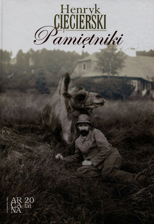 okładka Pamiętniki, Książka | Ciecierski Henryk