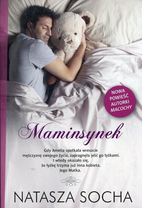 okładka Maminsynek, Książka | Socha Natasza
