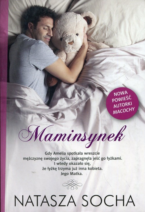 okładka Maminsynekksiążka      Natasza  Socha